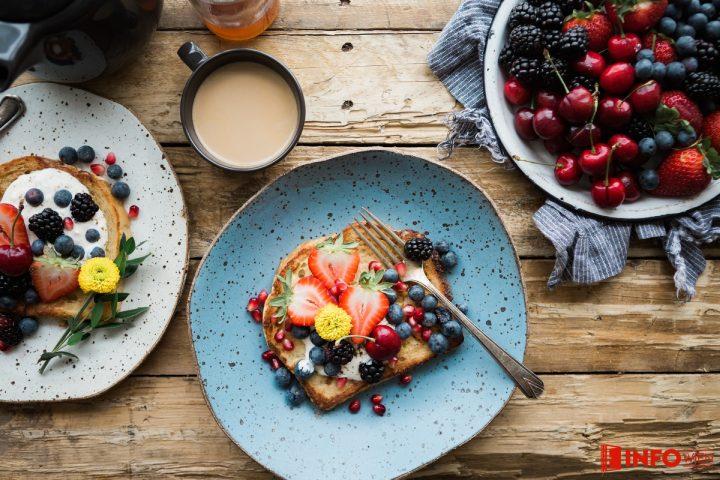 Frühstück ist ein Muss!