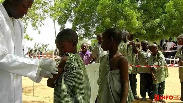 Westafrikanischer Meningitis-Ausbruch