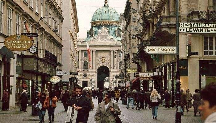 Einkaufen in Wien